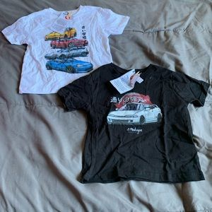 Graphic car tee (2T) boys